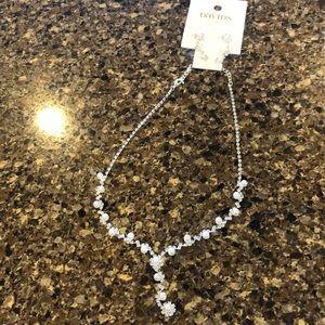 Elegant bridesmaid jewelry set